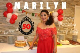 MARILYN'S 50th BIRTHDAY PARTY IN AUGSBURG