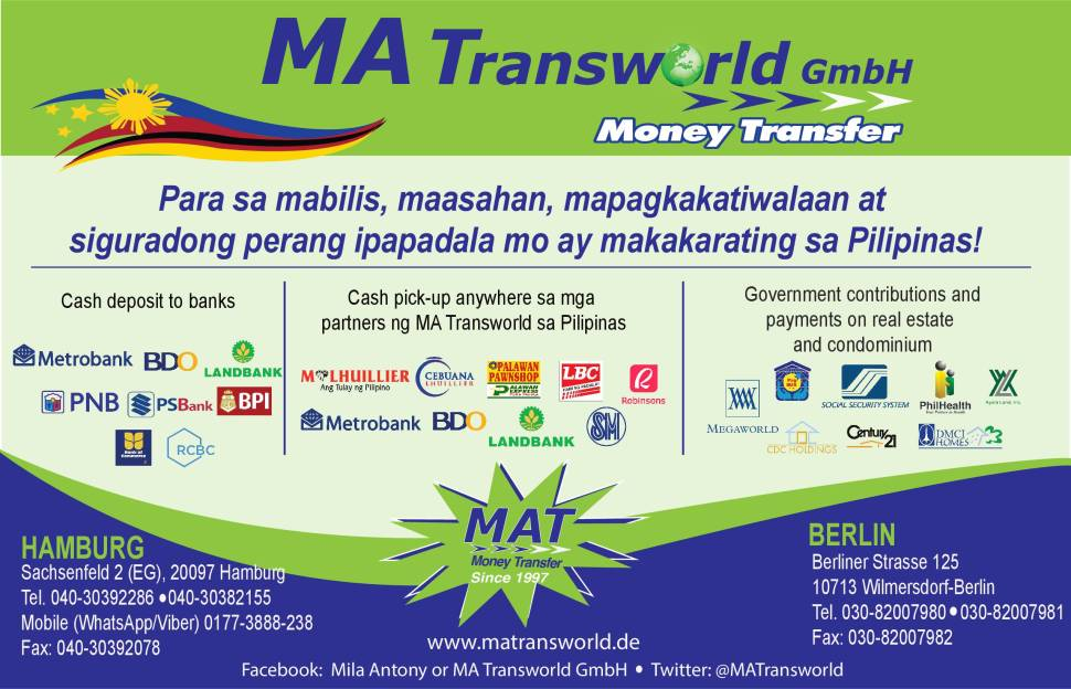 MA TRANSWORLD MONEY REMITTANCE