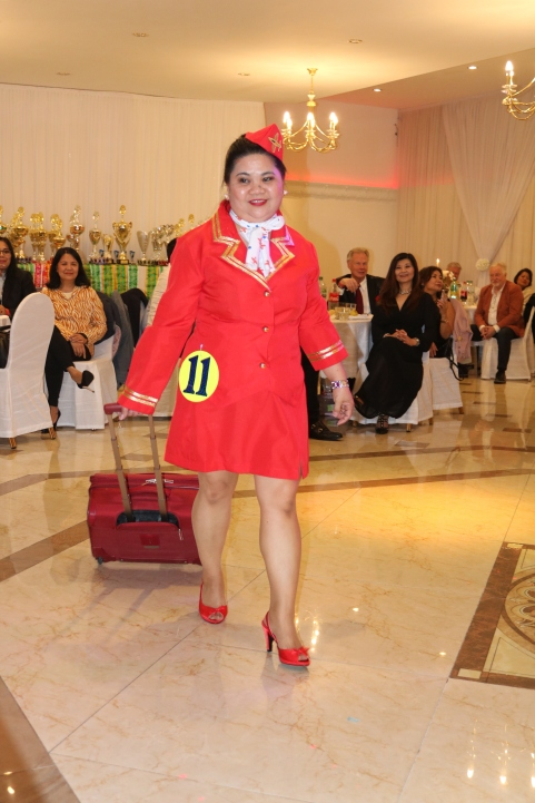 Sexy XL Beauty Queen Hamburg 2019 Candidate #11 Best in Stewardess Costume Competition