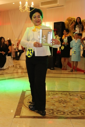 Golden Lady Beauty Queen Hamburg 2019 Candidate #22 Best in Stewardess Costume Competition