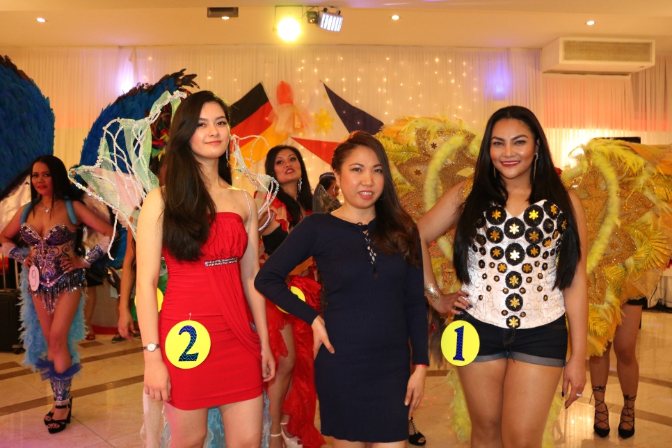 THE CANDIDATES OF Miss Young Phil. Asia Beauty Queen Hamburg 2019 Best in Victoria Secret's look-alike Competition