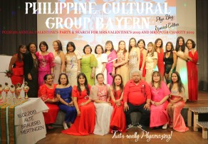 5th ANNUAL VALENTINE'S PARTY OF THE PHILIPPINE CULTURAL GROUP BYAERN IN MERTINGEN