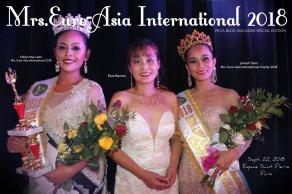 MRS. EURO-ASIA INTERNATIONAL 2018 IN PARIS