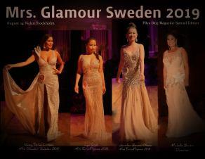 MRS. GLAMOUR SWEDEN 2019 IN NALEN, STOCKHOLM SWEDEN